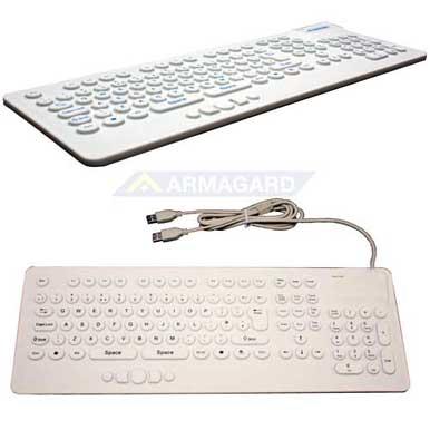 Компактная Водонепроницаемая клавиатура