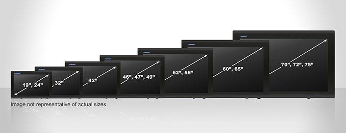 LCD Enclosure dimensioni