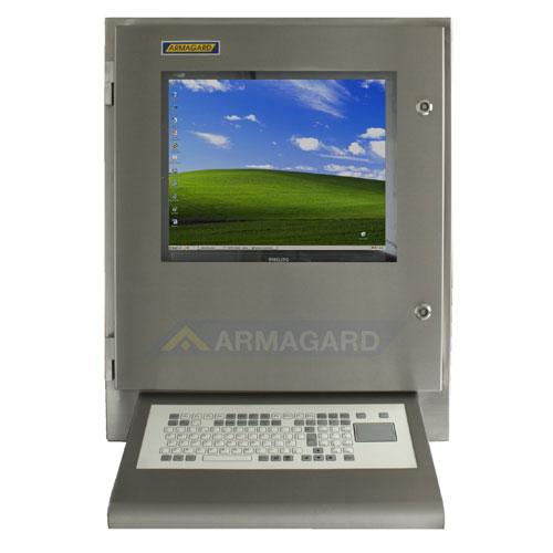 Водонепроницаемый узкий компьютерный корпус SENC-700 с клиновой клавиатурой