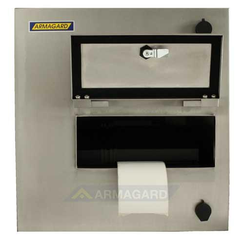 Принтерный корпусa - вид спереди с открытой дверью