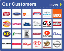 Logos of just some of the Armagard Customer list