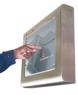 Водонепроницаемый сенсорный монитор